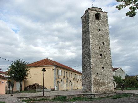 Ottoman clock tower in the Stara Varoš (Old town) Podgorica.