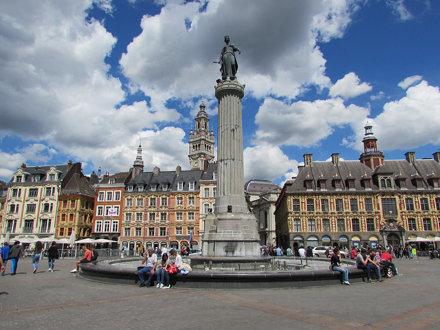 Lille: Place Général de Gaulle (Nord)