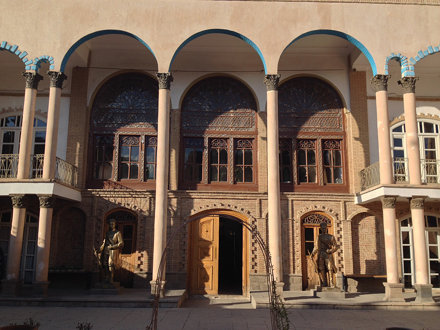 Courtyard of the Constitution House (Khaneh Mashrouteh)