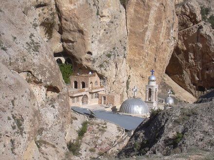 Maalula, Kloster der Hl. Thekla (Deir Mar Takla)