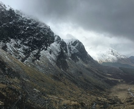 Corrie Fee looking quite dramatic