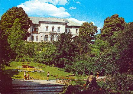 Palatul Pionerilor Cotroceni București 1970 Дворец на пионерите (Котрочени) Букурещ Румъния