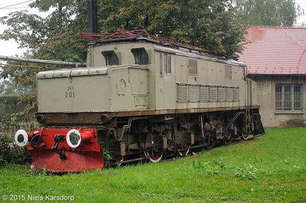 Ex-JŽ 361-201 te Zagreb