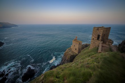 Pre-Dawn walk near Botallack, another (wide) angle
