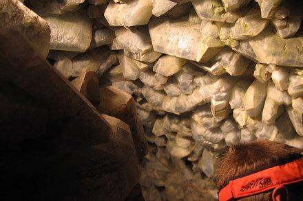 Celestite Cave