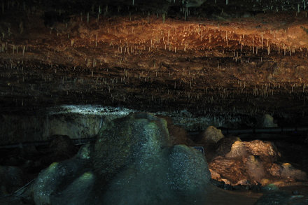 Flowstone In Perry's Cave