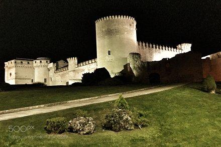 Medieval castle Villa de Cuellar (Segovia / Spain)