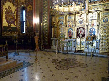 Curtea d'Arges - Mănăstirea Curtea de Argeș. iconstasis