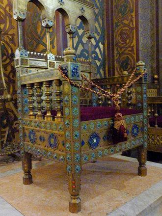 Curtea d'Arges - Mănăstirea Curtea de Argeș patriarch's chair