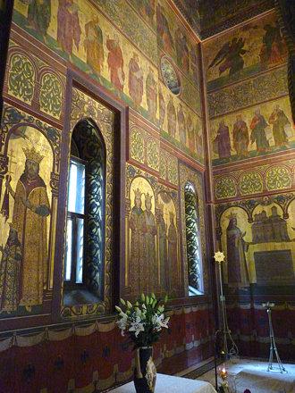 Curtea d'Arges - Mănăstirea Curtea de Argeș. interior  (4)