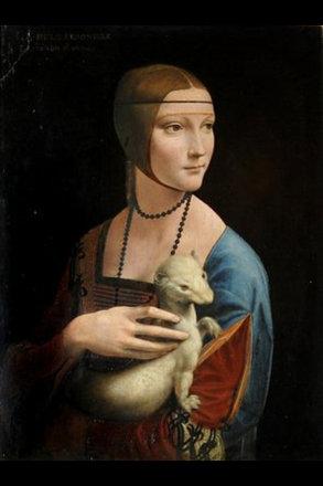 Dame mit dem Hermelin.