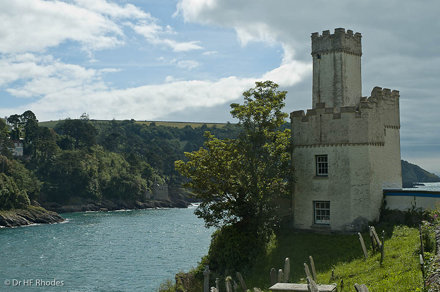Old Lighthouse Tower, Dartmouth Castle, Devon, Devon