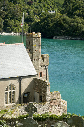 The church of St Petroc, Dartmouth Castle, Devon