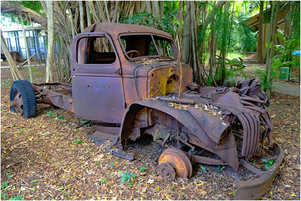 World War 2 relic - East Point Military Museum, Darwin, Northern Territory, Australia.02