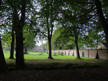 Parkaanleg - Huis te Manpad - Herenweg 9 - Heemstede