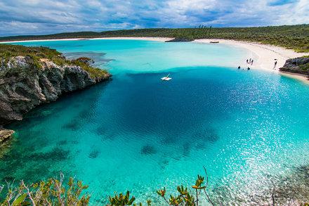 [OC] Dean's Blue Hole, Bahamas [2560x1707]