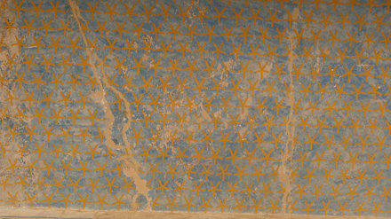 Temple of Hatshepsut Ceiling - Painting of the Night Sky