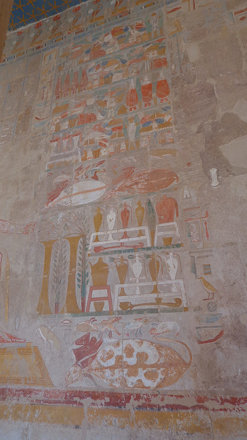 Temple of Hatshepsut Hieroglyphs