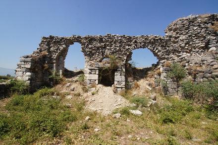 Capito Baths, Miletos, Asia