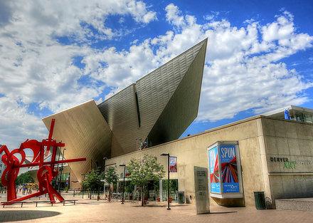 Denver Art Museum, Denver, Colorado, USA