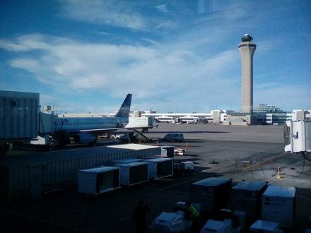 Denver International Airport concourse B