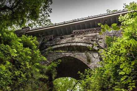 Vale of Rheidol steam railway, from Aberystwyth to Devil's Bridge