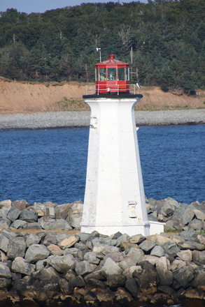 Maugher Beach Lighthouse (McNabs Island, Nova Scotia) - (Adventure of the Seas - August 1st, 2018)