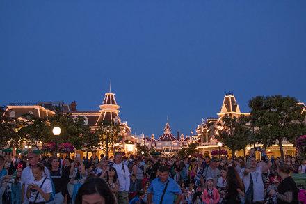 Main Street U.S.A. by night