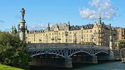 Djurgardsbron. Stockholm. Sweden.