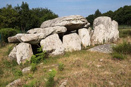 Bretagne, alignements de Kermario, Carnac