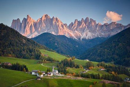 Santa Maddalena and the Odle peaks