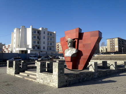 Marshal Jukov square and monument
