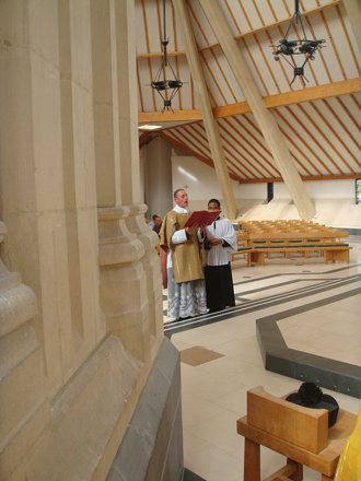 Solemn High Mass: Epistle