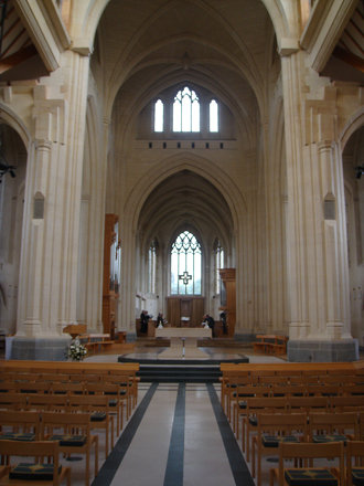 Douai Abbey Church