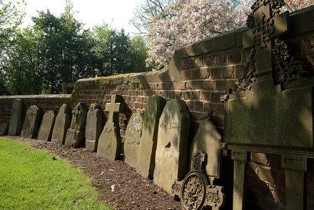 Douai Abbey Churchyard