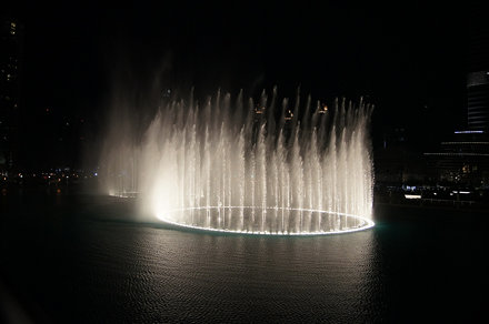 Burj Khalifa - Fountains