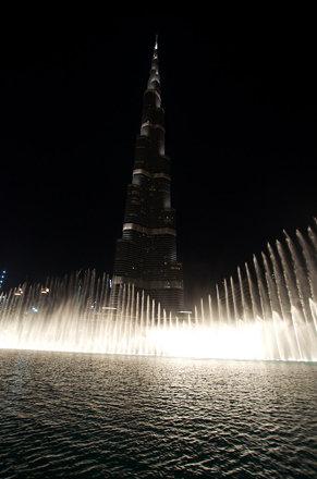 Burj Khalifa Watergames 2