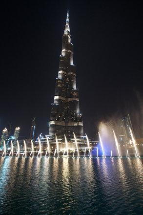 Burj Khalifa Watergames 1