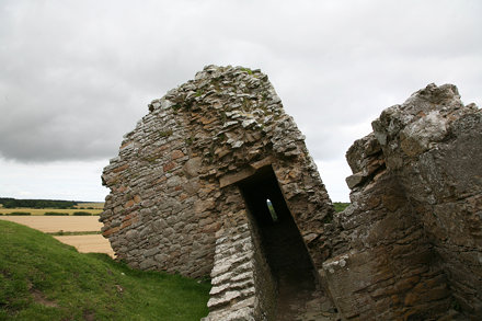 Duffus Castle Subsidence