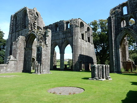 Dundrennan Abbey, established 1142 by Fergus of Galloway, King David I of Scotland and monks from Ri