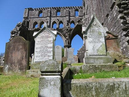 Dundrennan Abbey, Dundrennan, May 2015