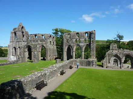 Dundrennan Abbey, established 1142