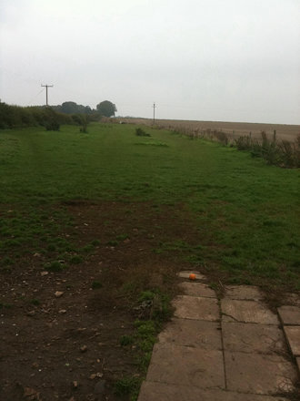 The exercise field on a bit of a dull day :o(