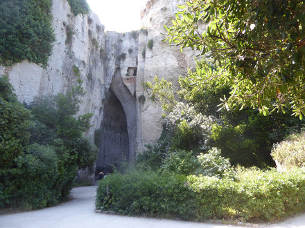 Stone quarries, Ear of Dionysius, Syracuse