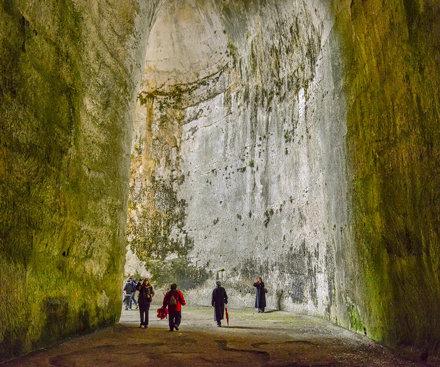 Ear of Dionysius cave, Siricusa, Sicily