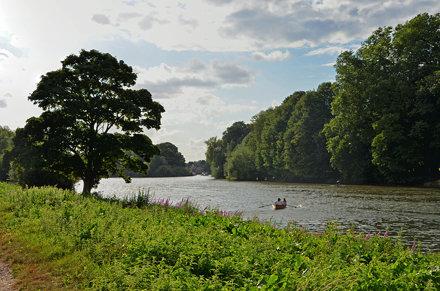 The Thames near Eel Pie Island
