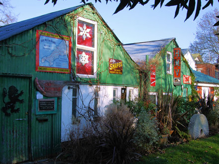 Houses On  Eel Pie Island - Twickenham.