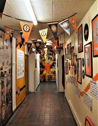 Inside The Eel Pie Island Museum, Twickenham - London.
