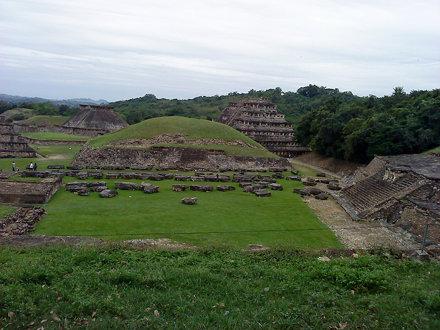 Panorama del Tajín
