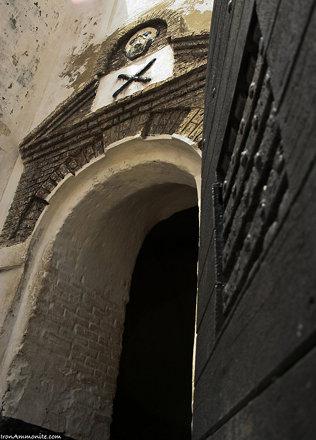 Elmina dungeon door, Ghana